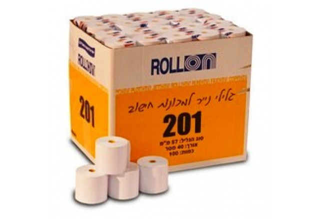 Paper rolls for all cash registers and credit card terminals