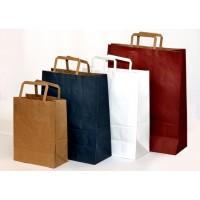Flat Handles paper bags - Reduce Price !!