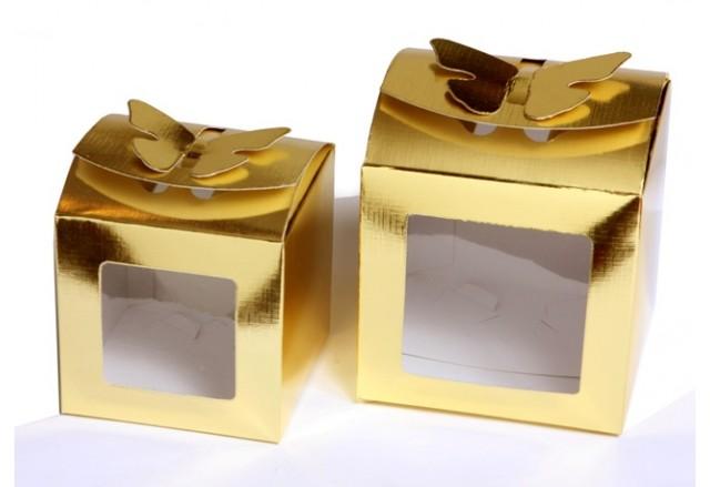 Butterfly paper box + PVC Window