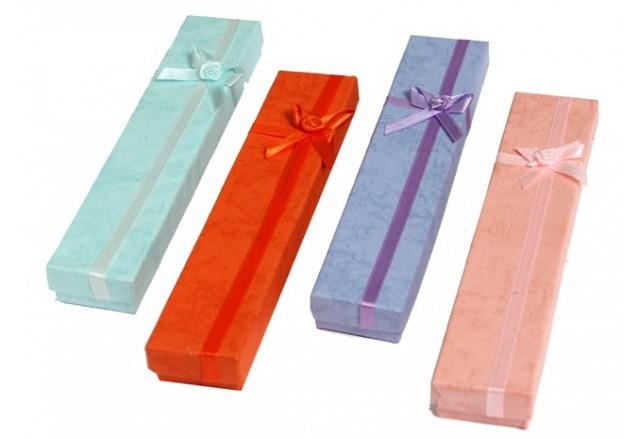 Satin ribbon bracelet box - Discount!