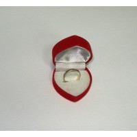Velvet ring box - Sale!