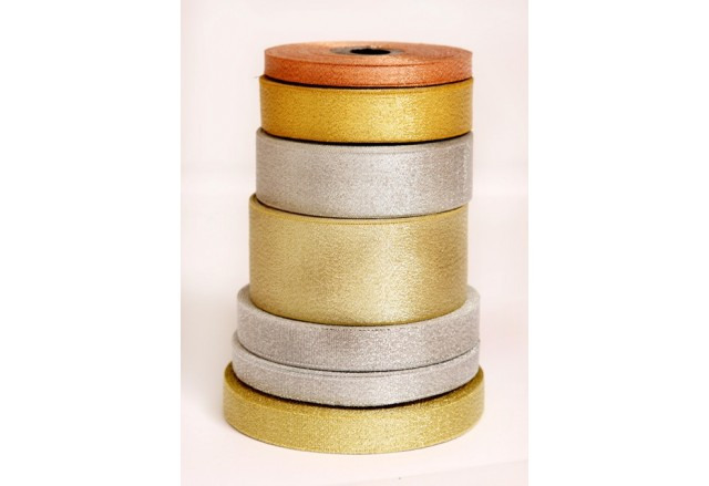 Lurex Ribbons -  Gold, Silver
