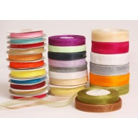 Organza Ribbons - in rolls