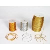 Gold or silver thread