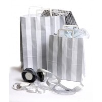 NEW - Paper bags with patterns, chromo paper handle